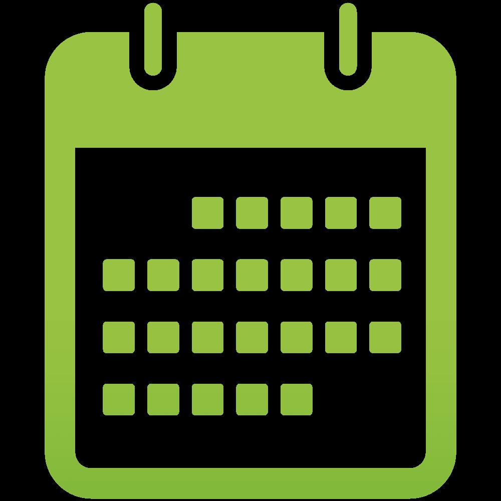 Pin Calendar Icon on Pinterest
